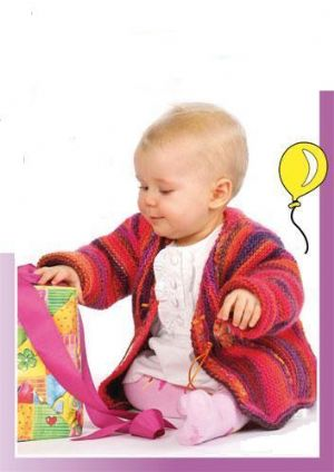 MILLE COLORI BIRTHDAY JACKET Free Pattern